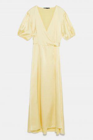 Zara Sateen Dress