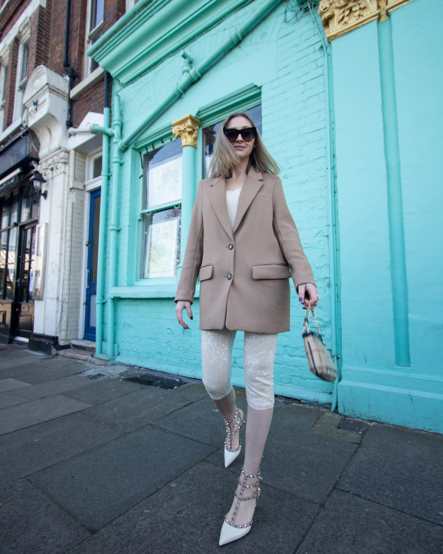 beige colour jacket