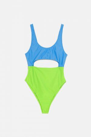 colour swimsuit